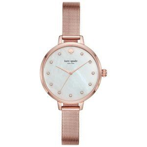 Kate Spade Metro Rose Gold Bracelet Watch NIB